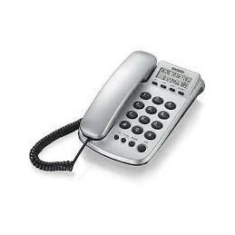 TELEFONO FIDDO DA UFFICIO CON DISPLAY UNA MEMORIA TASTO DIRETTO