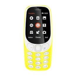TELEFONO CELLULARE NOKIA 3310 3G GIALLO
