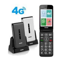 TELEFONO GSM 4G FLIP CON ANDROID 8.1, WHATZAPPMEMORIA ESPANDIBILEBLUETOOTH