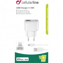 CARICABATTERIA DA RETE LIGHTING MFI APPLE