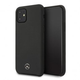 COVER SILICONE MERCEDES BENZ IPHONE 12 / 12 PRO NERA
