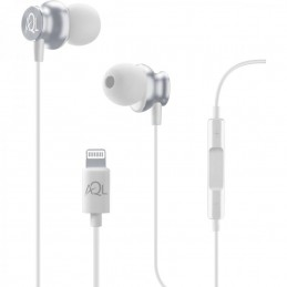 AURICOLARI IN EAR LIGHTING PER IPHONE BIANCO