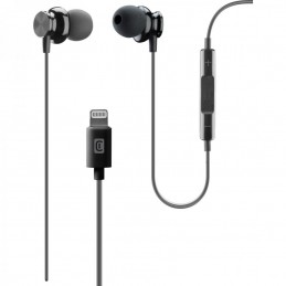 AURICOLARI MFI JUNCO IPHONE NERO