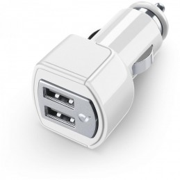 CARICABATTERIA AUTO 3A DUAL USB IPAD