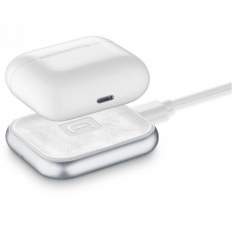 CARICABATTERIE WIRELESS AIRPODS BIANCO