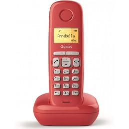 TELEFONO CORDLESS GIGASET ROSSO