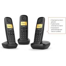 TELEFONO CORDLESS TRIO GIGASET NERO