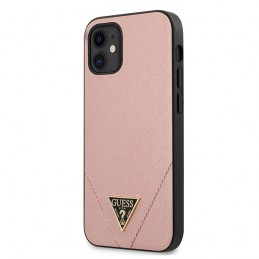 COVER HARD GUESS BLACK APPLE IPHONE 12 mini PINK
