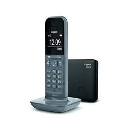 TELEFONO CORDLESS GIGASET CON SEGRETERIA CL390A GREY
