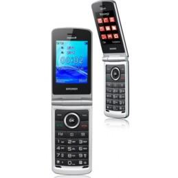 Cellulare CLAMSHELL BRONDI Dual sim NERO