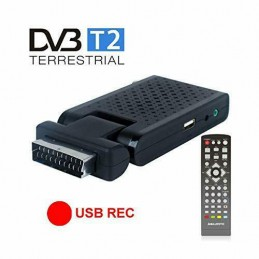 MINI DECODER DIGITALE TERRESTRE DVB-T/T2 HD
