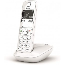 Gigaset AS690 Telefono Portatile Cordless con Vivavoce Alta Qualità, Tastiera Illuminata ed Ampio Display, Black List, Lista Chi