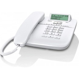 TELEFONO A FILO GIGASET DA611 BIANCO