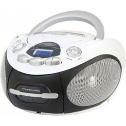 Cassetta +CD MP3 CON INGRESSO USBLettore CD-DA/CD-R/CD-RW/MP3