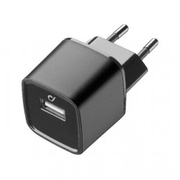 CARICABATTERIA RETE IPHONE USB NERO