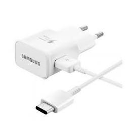 CARICABATTERIE DA RETE SAMSUNG  ETAU90EWE CON CAVO USB-C BIANCO IN CONFEZIONE  BULK