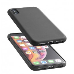 COVER SOFT TOUCH IPHONE XS MAX NERO