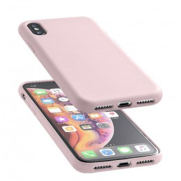 COVER SOFT TOUCH IPHONE XS MAX ROSA