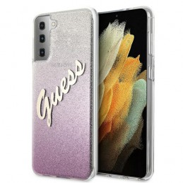 COVER GUESS SAMSUNG GALAXY S21  PLUS GLITTER PINK