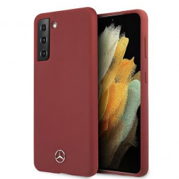 COVER MERCEDES BENZ GALAXY S21 PLUS RED