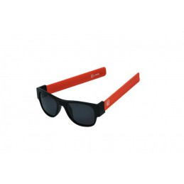 CLACK BLACK/ ORANGE POLARIZED GREY LENSCAT.3 UV400 Polarizzate antiriflesso effetto specchio                  Protezione raggi