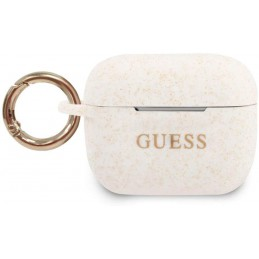 COVER GUESS AIRPODS PRO SILICONE BIANCO