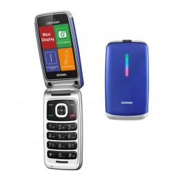 Cellulare CLAMSHELL BRONDI Dual sim BLU/VIOLA