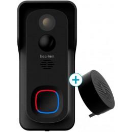 SET campanello esterno con telecamera da esterno IP54Protezione contro spruzzi d\'acqua e polvere.Suoneria interna extra forte