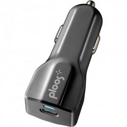 CARICABATTERIE DA AUTO 18W USB-C NERO