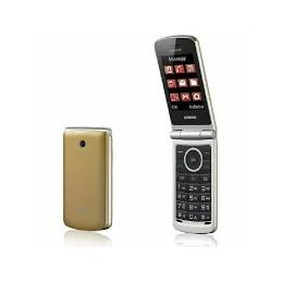 Cellulare CLAMSHELL BRONDI Dual sim GOLD