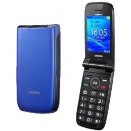 Cellulare CLAMSHELL BRONDI Dual sim BLU - VIOLA