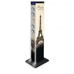 Bigben 2.1 sound-Tower PARIS BLUETOOTH PARTY-Altoparlante Box AUX SD USB mp3 Radio